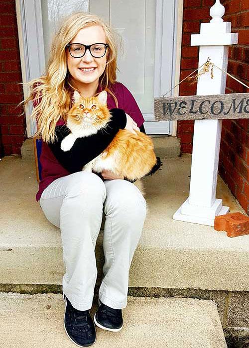 Amanda Anderson Vet Assistant In Central Kentucky Animal Hospital