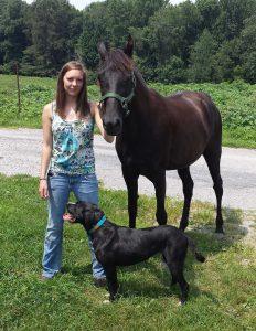 Brianna Bledsoe, Veterinary Technician in Lancaster, Kentucky