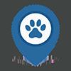 animal hospital map pin